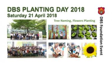DBS Planting Day 2018